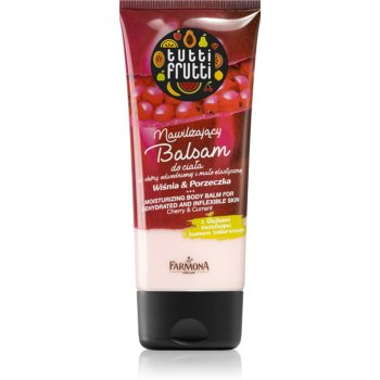 Farmona Tutti Frutti Cherry & Currant balsam de corp hidratant imagine 2021 notino.ro