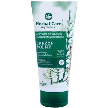 Farmona Herbal Care Horsetail balsam regenerator pentru par deteriorat notino.ro