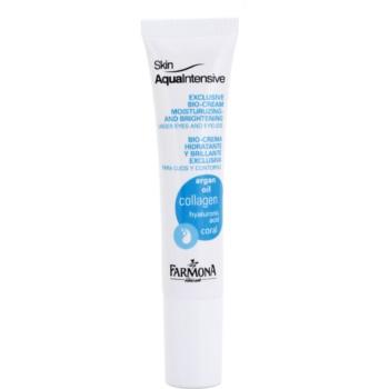 Farmona Skin Aqua Intensive hidratare și strălucire pentru pleoape și pungile de sub ochi notino.ro
