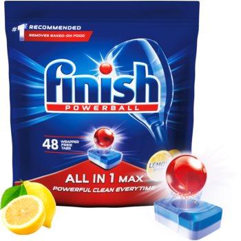 Finish All in 1 Max Lemon tablete pentru mașina de spălat vase imagine 2021 notino.ro