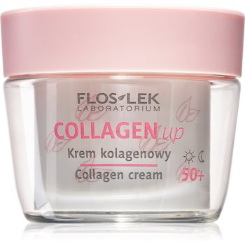 FlosLek Laboratorium Collagen Up crema anti-rid de zi si de noapte 50+ imagine 2021 notino.ro
