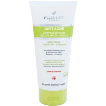 FlosLek Pharma Anti Acne gel de curățare pentru tenul gras, predispus la acnee notino.ro