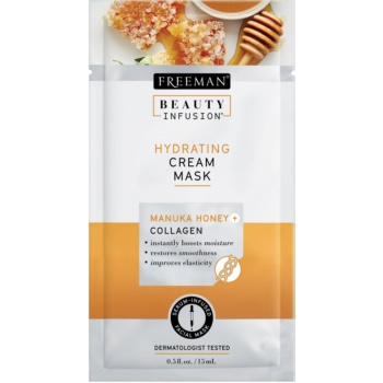 Freeman Beauty Infusion Manuka Honey + Collagen crema masca hidratanta pentru ten normal spre uscat imagine 2021 notino.ro