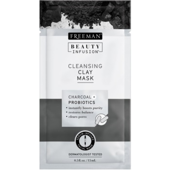 Freeman Beauty Infusion Charcoal + Probiotics masca facială pentru curatarea tenului imagine 2021 notino.ro
