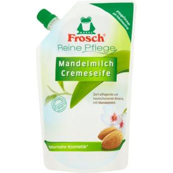 Frosch Creme Soap Almond Milk săpun lichid rezervă imagine 2021 notino.ro
