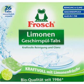 Frosch All in One Limonen tablete pentru mașina de spălat vase imagine 2021 notino.ro