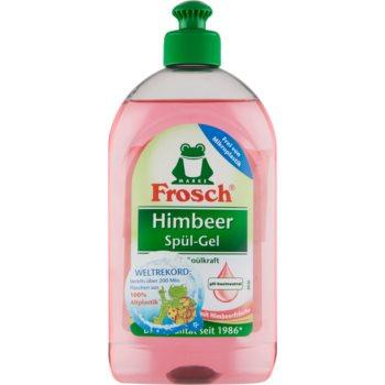 Frosch Dishwashing Gel Raspberry produs pentru spălarea vaselor imagine 2021 notino.ro