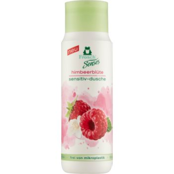 Frosch Senses Raspberry Blossom gel de duș mătăsos pentru piele sensibila imagine 2021 notino.ro