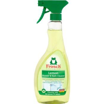 Frosch Shower & Bath Cleaner Lemon produs de curățare pentru baie spray imagine 2021 notino.ro