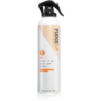 Fudge Prep Push It Up spray volumizant pentru uscarea prin suflare și coafatul final al părului imagine 2021 notino.ro
