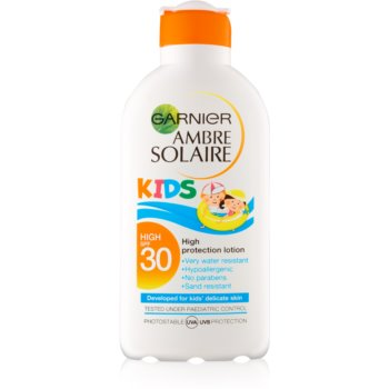 Garnier Ambre Solaire Kids lapte protector pentru copii SPF 30 imagine 2021 notino.ro