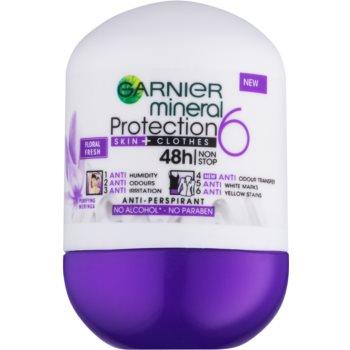 Garnier Mineral 5 Protection antiperspirant roll-on 48 de ore imagine 2021 notino.ro