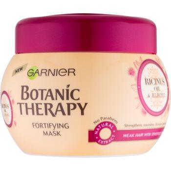 Garnier Botanic Therapy Ricinus Oil masca de întărire pentru părul slab, cu tendința de a cădea notino.ro