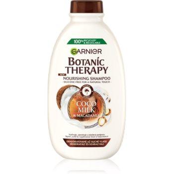 Garnier Botanic Therapy Coco Milk & Macadamia Șampon hrănitor pentru păr uscat și aspru imagine 2021 notino.ro