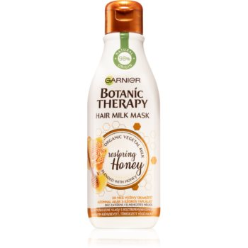 Garnier Botanic Therapy Hair Milk Mask Restoring Honey masca de par pentru păr foarte deteriorat și vârfuri despicate imagine 2021 notino.ro