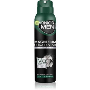 Garnier Men Mineral Magnesium Ultra Dry antiperspirant pentru barbati imagine 2021 notino.ro