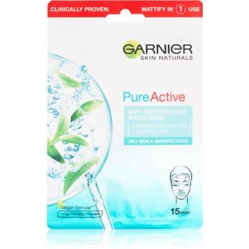 Garnier Skin Naturals Pure Active mască cu efect de curățare imagine 2021 notino.ro