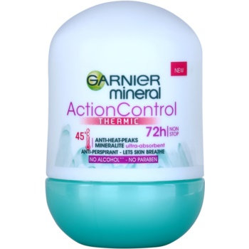 Garnier Mineral Action Control Thermic antiperspirant roll-on imagine 2021 notino.ro