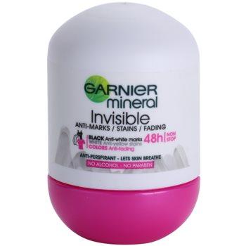 Garnier Mineral Invisible antiperspirant roll-on pentru femei imagine 2021 notino.ro