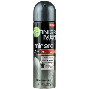 Garnier Men Mineral Neutralizer spray anti-perspirant impotriva petelor albe imagine 2021 notino.ro