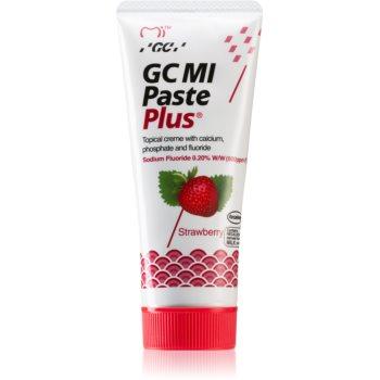 GC MI Paste Plus Crema protectoare de remineralizare pentru dinți sensibili cu flor imagine notino.ro