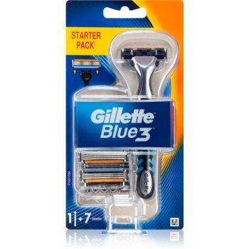 Gillette Blue3 Aparat de ras + rezervă lame imagine 2021 notino.ro