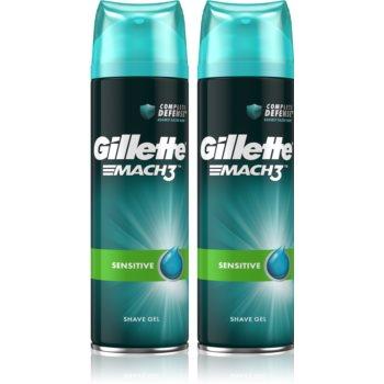 Gillette Mach3 Sensitive gel de ras cu efect calmant pentru barbati imagine 2021 notino.ro