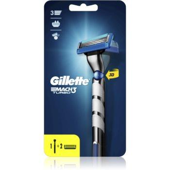 Gillette Mach3 Turbo Champions League Aparat de ras + 2 capete de schimb imagine 2021 notino.ro