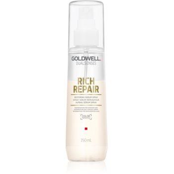 Goldwell Dualsenses Rich Repair Spray ser fără clătire pentru par deteriorat notino.ro