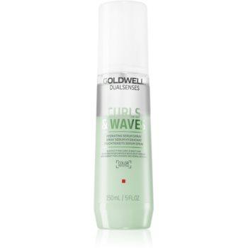 Goldwell Dualsenses Curls & Waves Spray ser fără clătire pentru păr creț imagine 2021 notino.ro