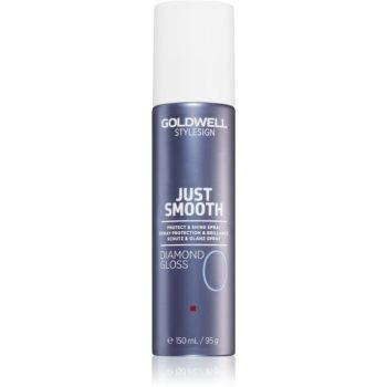 Goldwell StyleSign Just Smooth Diamond Gloss spray protector pentru un par stralucitor si catifelat imagine 2021 notino.ro