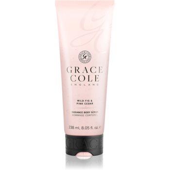 Grace Cole Wild Fig & Pink Cedar exfoliant pentru corp cu efect de iluminare imagine 2021 notino.ro