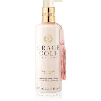 Grace Cole Vanilla Blush & Peony crema de maini hranitoare notino.ro