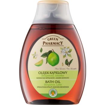 Green Pharmacy Body Care Bergamot & Lime ulei pentru baie imagine 2021 notino.ro