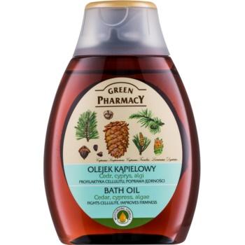 Green Pharmacy Body Care Cedar & Cypress & Algae ulei pentru baie imagine 2021 notino.ro