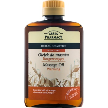 Green Pharmacy Body Care ulei cald pentru masaj notino.ro