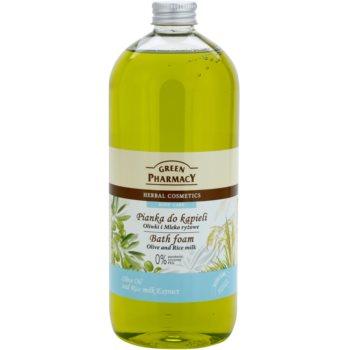 Green Pharmacy Body Care Olive & Rice Milk spuma de baie imagine 2021 notino.ro