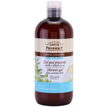 Green Pharmacy Body Care Olive & Rice Milk gel de duș imagine 2021 notino.ro