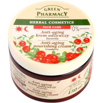Green Pharmacy Face Care Cranberry crema hranitoare împotriva îmbătrânirii pielii imagine 2021 notino.ro