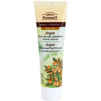 Poza Green Pharmacy Hand Care Argan Crema nutritiva si protectie pentru maini si unghii