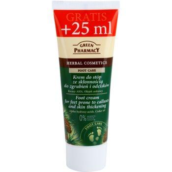 Green Pharmacy Foot Care crema pentru picioare predispuse la bataturi si ingrosarea pielii imagine 2021 notino.ro