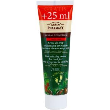 Green Pharmacy Foot Care crema pentru relaxarea picioarelor obosite si a celor predispuse la umflare imagine 2021 notino.ro