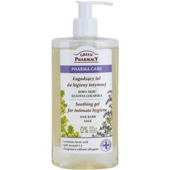 Green Pharmacy Pharma Care Oak Bark Sage gel calmant pentru igiena intima imagine 2021 notino.ro