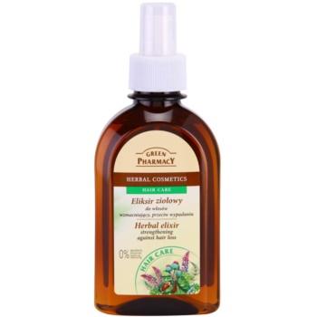 Green Pharmacy Hair Care elixir pe baza de plante pentru consolidarea parului si contra caderii parului notino.ro