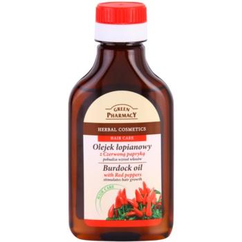 Green Pharmacy Hair Care Red Peppers Ulei din brusture pentru stimularea cresterii parului imagine 2021 notino.ro