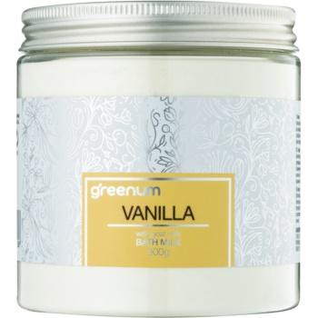 Greenum Vanilla lapte de baie pudră imagine 2021 notino.ro