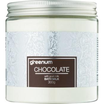 Greenum Chocolate lapte de baie pudră imagine 2021 notino.ro