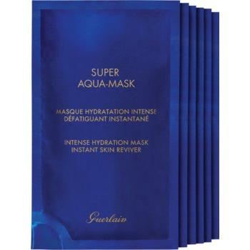 GUERLAIN Super Aqua Intense Hydration Mask mască textilă hidratantă notino poza
