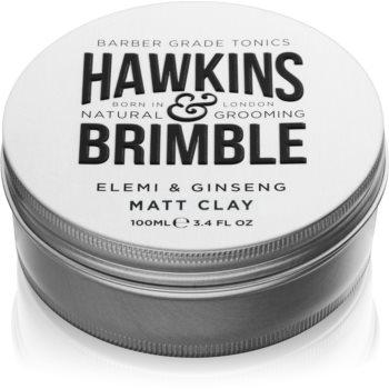 Hawkins & Brimble Natural Grooming Elemi & Ginseng pomadă matifiantă pentru păr imagine 2021 notino.ro