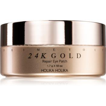 Holika Holika Prime Youth 24K Gold masca hidrogel pentru ochi cu aur de 24 de karate image0